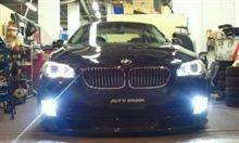 BMW F10にSMART HID!!AUTO BURAIN様