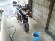 『バンディット』 洗車