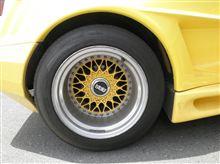 タイヤが・・・