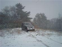 初雪。。。かな?