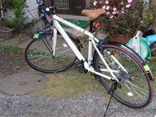 自転車さん帰宅。