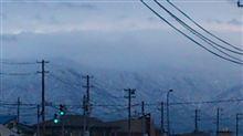 新潟は雪景色