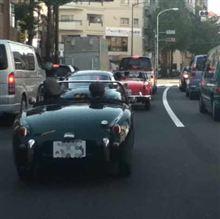 休日の東京は最高のドライビングコース