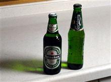 いつものビールがなくて.....
