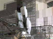 2012お台場ガンダム建設レポート 11/28。