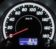 2011/11/27 キリ番GET♪ 45678km
