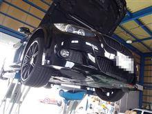 メンテナンスは大事...BMW E92 320 エンジンオイル交換..FUCHS 5W40