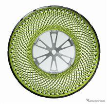 ブリヂストン 空気不要のタイヤ技術を開発