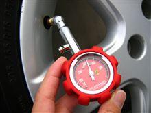 先日の続き・・・保管の際の空気圧は?