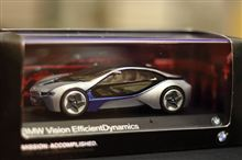 BMWダイキャストミニカー Vision EfficientDynamics 1/43サイズ入荷っ!