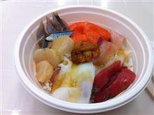 海鮮丼とドアパンチ