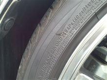 タイヤ交換、もう・・・!?