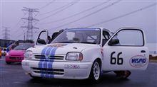 ウエット路面の耐久レース(-∀-)
