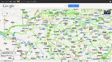 GoogleMapの交通情報の表示機能がスゴイ!