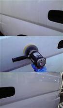 ギヤを使って 業務洗車!!。