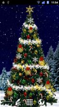 111217-3 Christmas Tree Live Wallpaper・・・