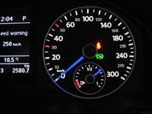 300km/hスケールメーター × 1/2 = 100km/h