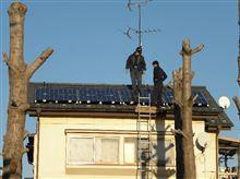 ついに我が家にもソーラ発電が(^_^)/~