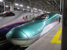 新幹線<はやぶさ>に乗ってみた
