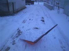 第1回雪かき大会終了~
