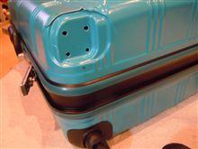 スーツケース破損・・・