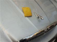 真冬の洗車...