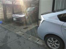 洗車と掃除終了…