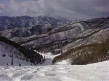 雪山シーズン突入