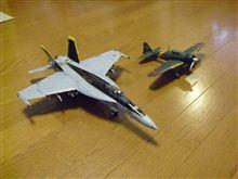 F/A-18E VFA-27ロイヤルメイセス戦闘機 VS 零式艦上戦闘機 22型