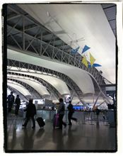 年末の空港