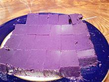 紫色の・・・