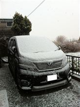 2回目の積雪