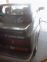 2012年、MR2 初ドライブ…
