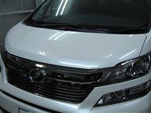 ヴェルファイア ボディガラスコーティング アークバリア21施工 愛知県豊田市 倉地塗装 KRC