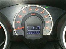 66,666km