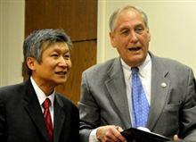 米国教科書に東海と日本海併記する法案  バージニア州上院小委、採択