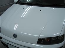 FIAT ボディガラスコーティング アークバリア21施工 愛知県豊田市 倉地塗装 KRC