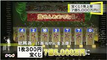 ついに7億5000万円