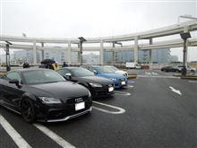 Audi Style 撮影会と言う寒中ガマン大会~(汗)