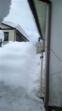 新潟の大雪と青島食堂のラーメン