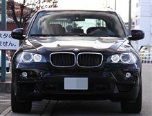 BMW X5(E70)メニューいろいろ。
