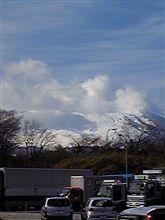 ただ今富士山は雲がかかってます(ーー;