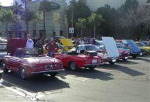 スーパーカーサンデーのあと Datsun RoadsterのFun Runでした。