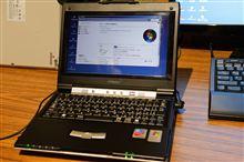 InterLink mp-xv831にWin7を入れてみるテスト
