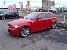 トータルアライメント調整..BMW E87 130..ビルシュタインPSS10+人気のリジカラ