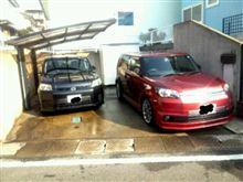 赤ルミ、黒ルミを洗車ヽ(*´▽)ノ♪