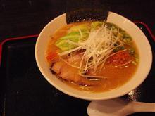 鶏白湯+海老味噌=うまい♪