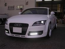 Audi/TT/8J/デイライト取付け