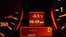 寒い(>_<)