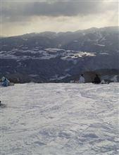 岐阜の雪山にスキーへ行きました♪